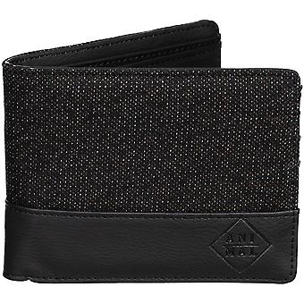 Animal Reckless Faux Leather Wallet in Black