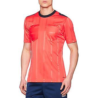 adidas Performans Mens Climacool Kısa Kollu UCL Futbol Hakem Jersey - Kırmızı