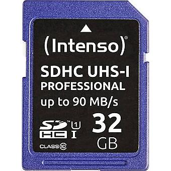 Carte de Intenso Professional SDHC 32 GB Class 10 UHS-I
