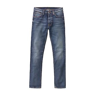 Nudie Jeans Co Lean Dean Slim Fit Jeans (Lost Legend)