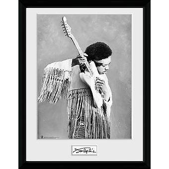 Jimi Hendrix utgjør samler trykte 30x40cm