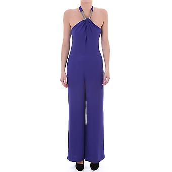 Ted Baker Womens Syren Halter Neck Jumpsuit With Wide Leg