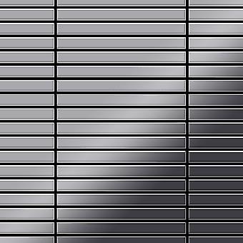 Metal mozaic oțel inoxidabil aliaj liniar-S-S-M