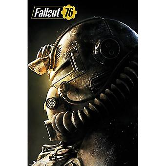 Fallout 76 T-51b kracht Armor Poster