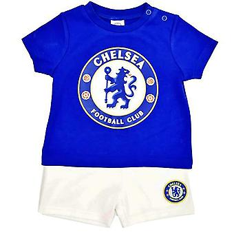 Chelsea FC Baby shortsit ja tee Sleep Set