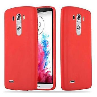 Cadorabo Hülle für LG G3 Case Cover - Handyhülle aus flexiblem TPU Silikon – Silikonhülle Schutzhülle Ultra Slim Soft Back Cover Case Bumper