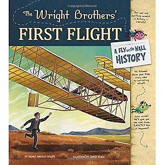 Wright Brothers' første flyvning: En flue på væggen-historie
