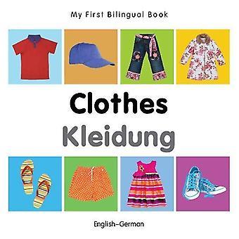 Min första tvåspråkiga bok - kläder - engelska-tyska