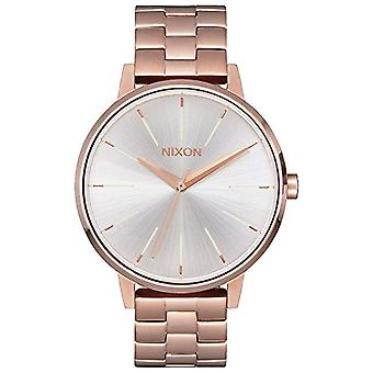 Nixon women's analog watch with metal plated stainless steel A0991045-00