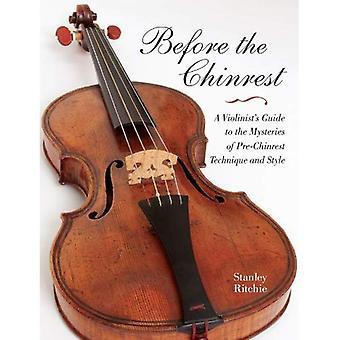 Voordat de kinhouder: een violist in de gids voor de Mysteries van de Pre-kinhouder techniek en stijl