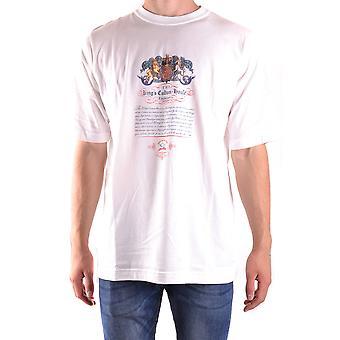 Paul & Shark Ezbc042016 Men's White Cotton T-shirt