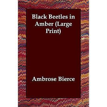 Schwarze Käfer in Bernstein von Bierce & Ambrose