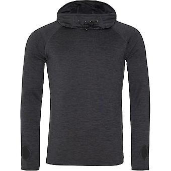Outdoor Look Mens Cool Cowl Hooded Neck Top Sweatshirt