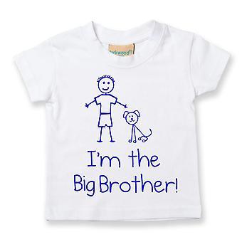 私は大きな兄弟犬 t シャツ