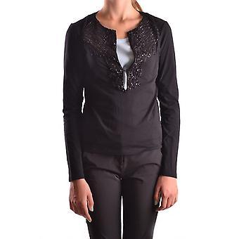 Iceberg Ezbc188008 Women's Black Cotton T-shirt