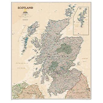 Scotland by National Geographic Maps - 9781597753630 Book