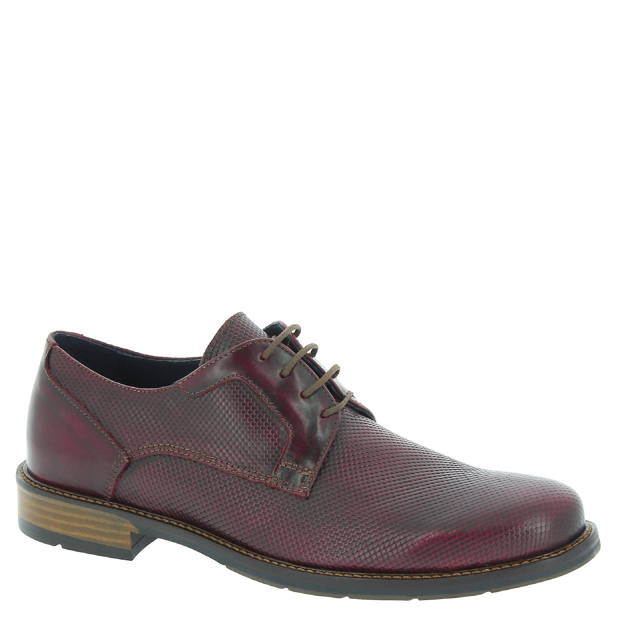 Raymont 623burgundy Men-apos;s Bourgogne Cuir Lace-up Chaussures