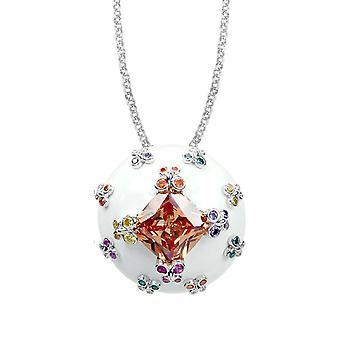 Belle Etoile White Farfalla Allegra Pendant 02020910804