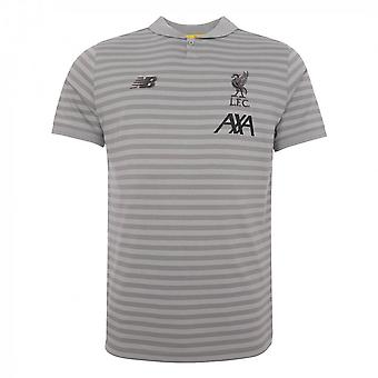 2019-2020 Liverpool Travel Polo shirt (grå)-barn