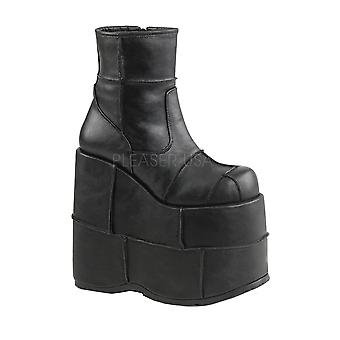 Demonia Stack 201 Platform Ankle Boot