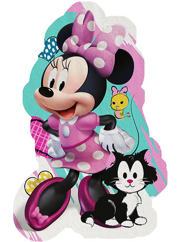 Minnie Mouse Shaped Beach Towel