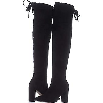 Adrienne Vittadini Womens Nilson Pointed Toe Over Knee Fashion Boots