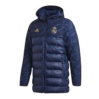 2019-2020 Real Madrid Adidas Seasonal Special Padded Jacket (Night Indigo)