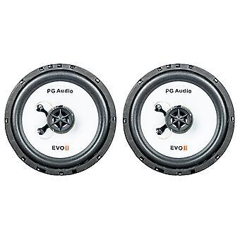 PG audio EVO II 16.2, 16 cm lokke højttalere, B-stock