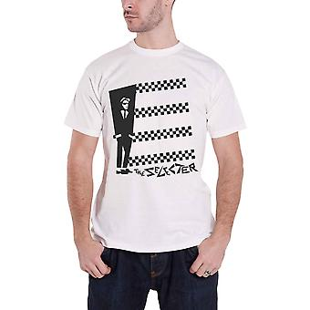 The Selecter T Shirt Band Logo Two Tone Stripes new Official Mens White