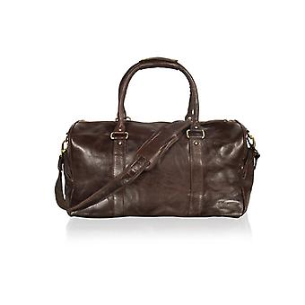 Brown Tubular Holdall 19.0