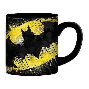 Batman Splatter Paint 14 Ounce Mug