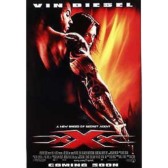 Affiche xxx (Réimpression double latérale régulière)