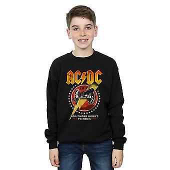 AC/DC jongens voor degenen over te rock 1981 Sweatshirt