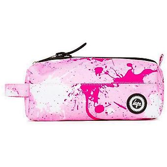 Hype Large Splatter Pencil Case Pink 00