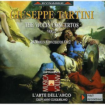 G. Tartini - Tartini: The Violin Concertos, Vol. 2 [CD] USA import