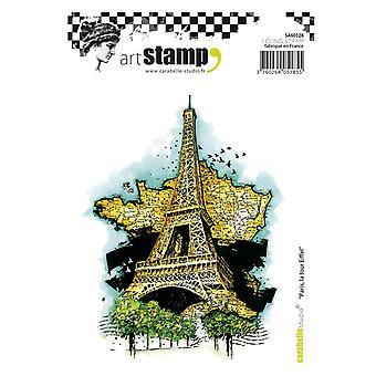 Carabelle Studio SA60328 A6 Stamp Paris, la tour Eiffel