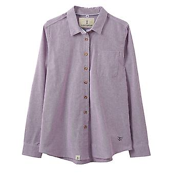 Lighthouse Ocean Ladies Shirt Grape Chambray