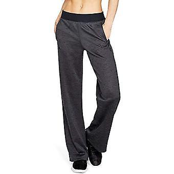 Under Armour Women's Synthetic Fleece Open, Charcoal (019)/Tonal, Size Medium