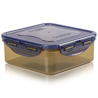 Lock & Lock Eco 870ml vierkante doos met deksel
