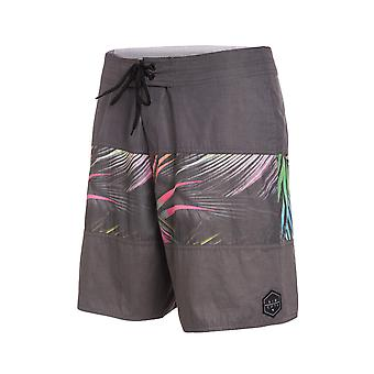 Rip Curl Rapture Fill Retro Short Board Shorts in Dark Grey