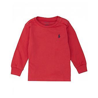 Polo Ralph Lauren Childrenswear Long Sleeved Crew Neck T-shirt