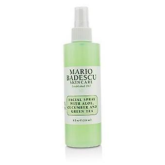 Mario Badescu Facial Spray met Aloë, Komkommer en Groene Thee - Voor alle huidtypes 236ml/8oz