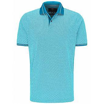 FYNCH HATTON Fynch Hatton Short Sleeve Fashion Patterned Polo