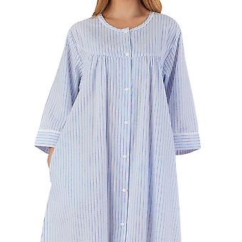 Slenderella HC55227 Kvinner's stripete kappe kjole