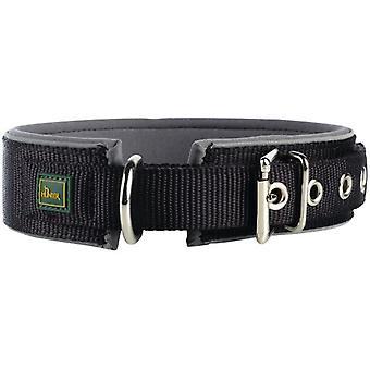Hunter Collar Neopren Reflect Black and Grey (Honden , Halsbanden en Riemen , Halsbanden)