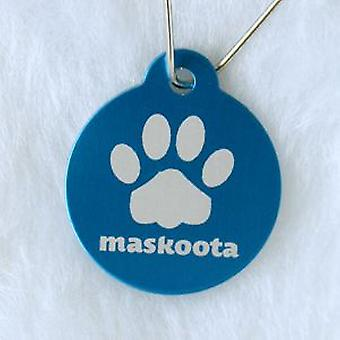Maskoota Chapa Circular (Dogs , Collars, Leads and Harnesses , Accessories)