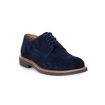Frau bijenkorf blauwe schoenen