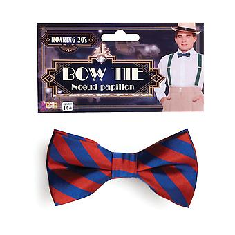 Bristol Novelty Striped Bow Tie