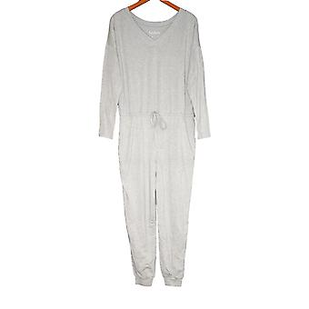 Anybody Jumpsuits Cozy Knit Long-Sleeve Gray A372099