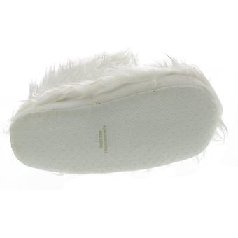 チャティ幼児女の子ロックスター毛皮で覆われたスリッパブーツ